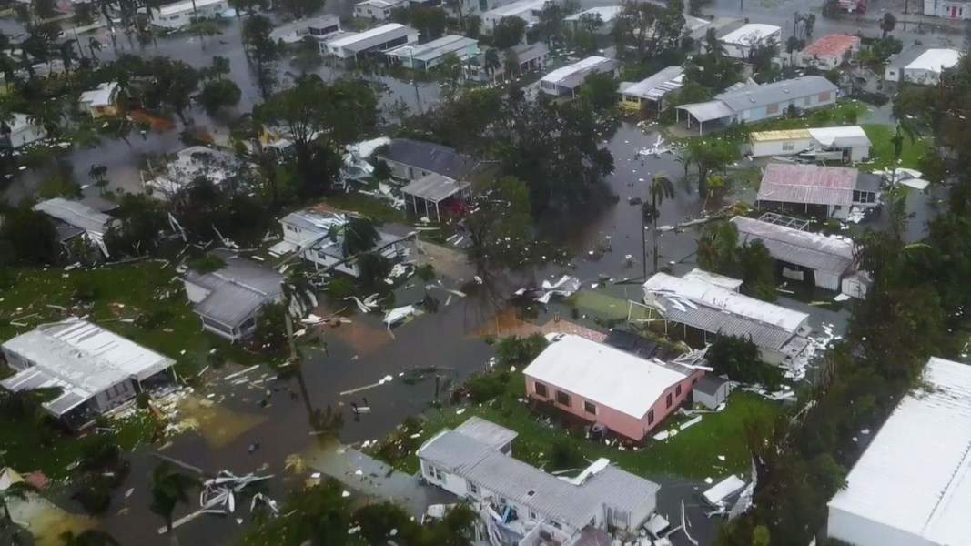 Hurricane Irma Mobile Home Park Residents Return To Find Their