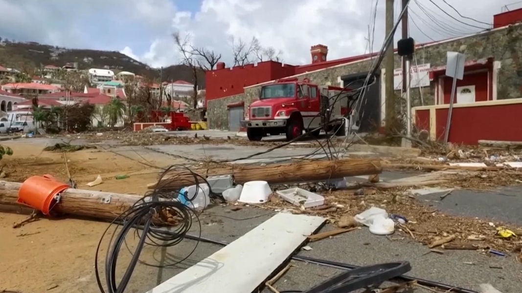 Richard Branson calls for 'Marshall Plan' to help Caribbean recover