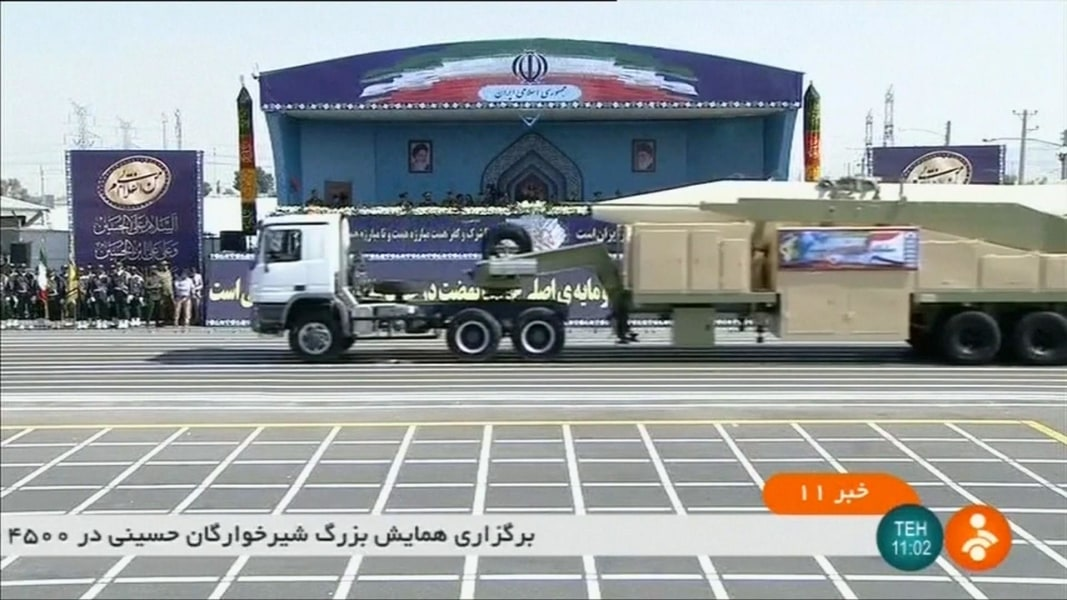 Iran Unveils New Long-Range Missile