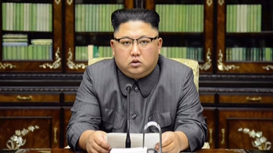White House says 'absurd' to claim war declared on N Korea