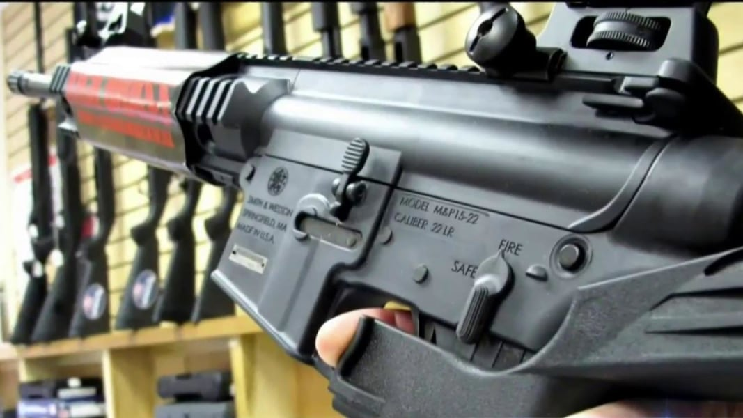 Republicans and the NRA open to banning bump stocks is encouraging