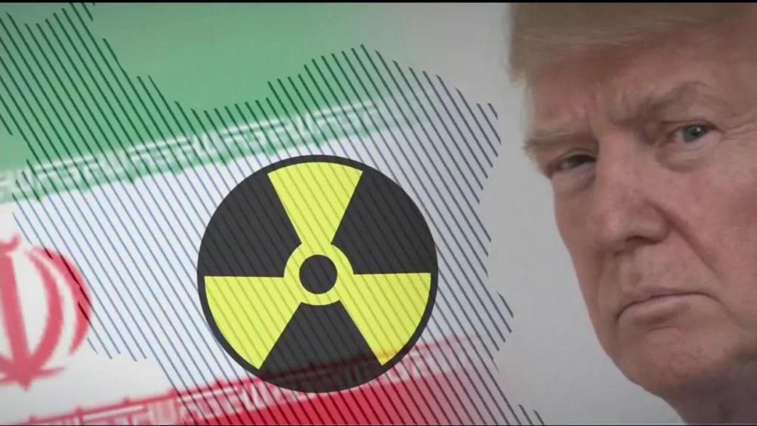 פרעזידענט טראמפ באאויפטראגט קאנגרעס צו פארריכטן נוקלעארע אפמאך מיט איראן