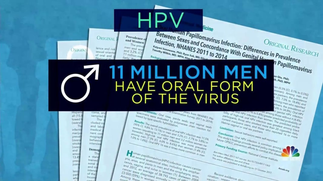 HPV-related oropharyngeal cancer risk remains generally low, study suggests