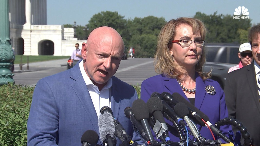 Gabby Giffords Calls For Stricter Gun Laws After Las Vegas Mass Shooting