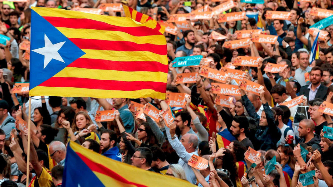 Image result for Catalonia Parliament Votes For Independence From Spain