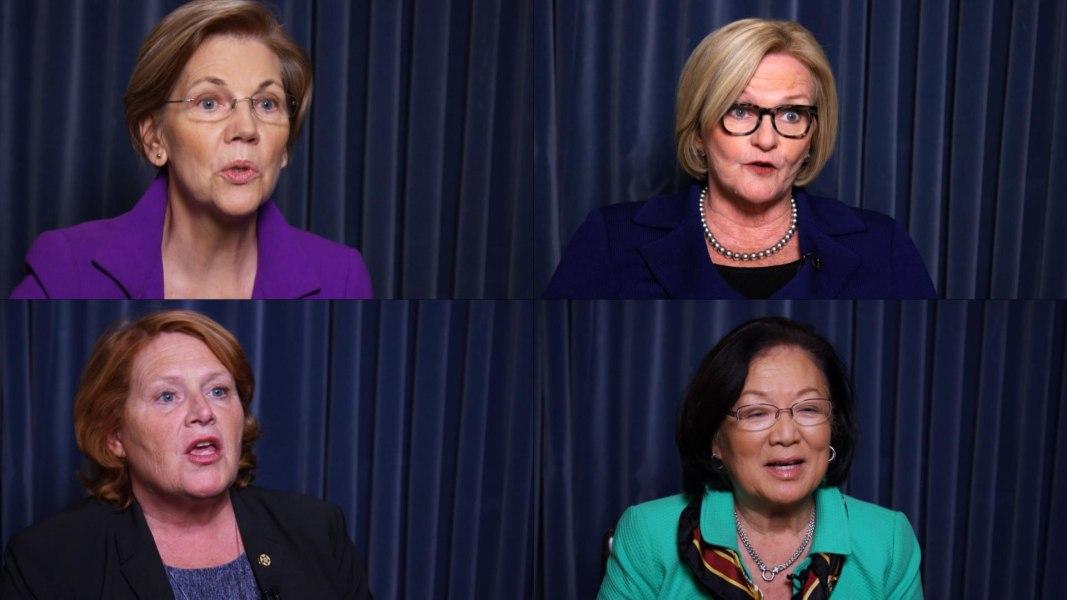 US Senators Share Their #MeToo Sex Harassment Stories