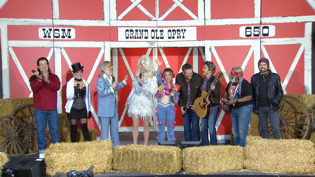 See The TODAY Anchors Costumed As Country Music Legends For Halloween