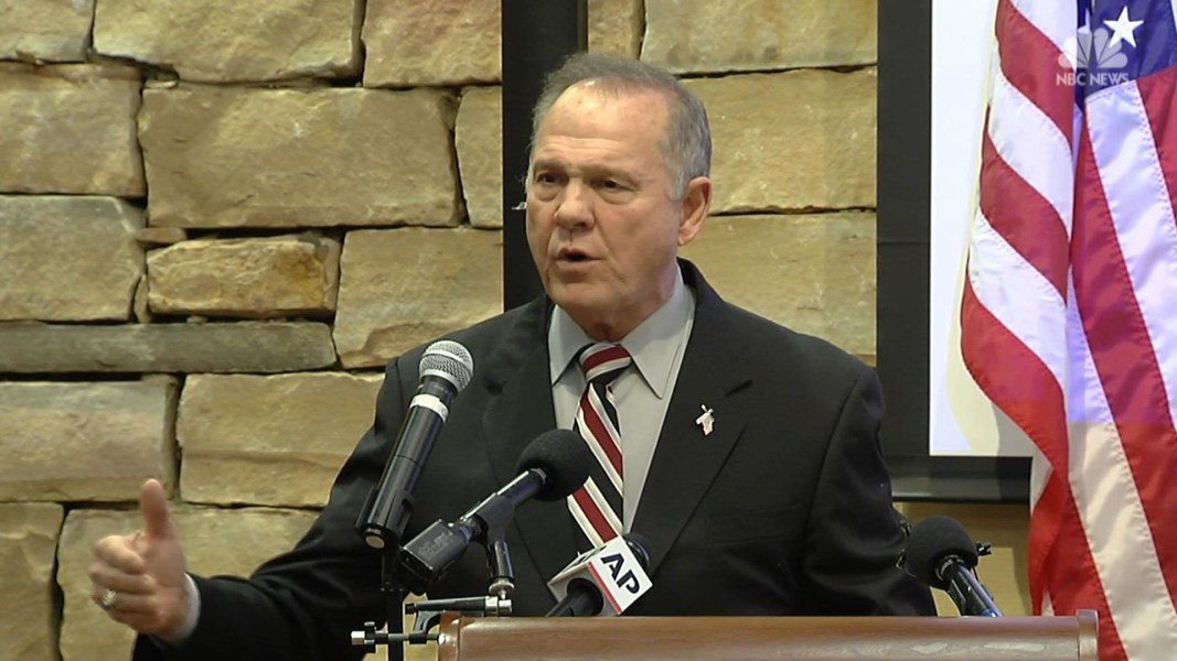Woman accuses Moore of sexually assaulting her at 16