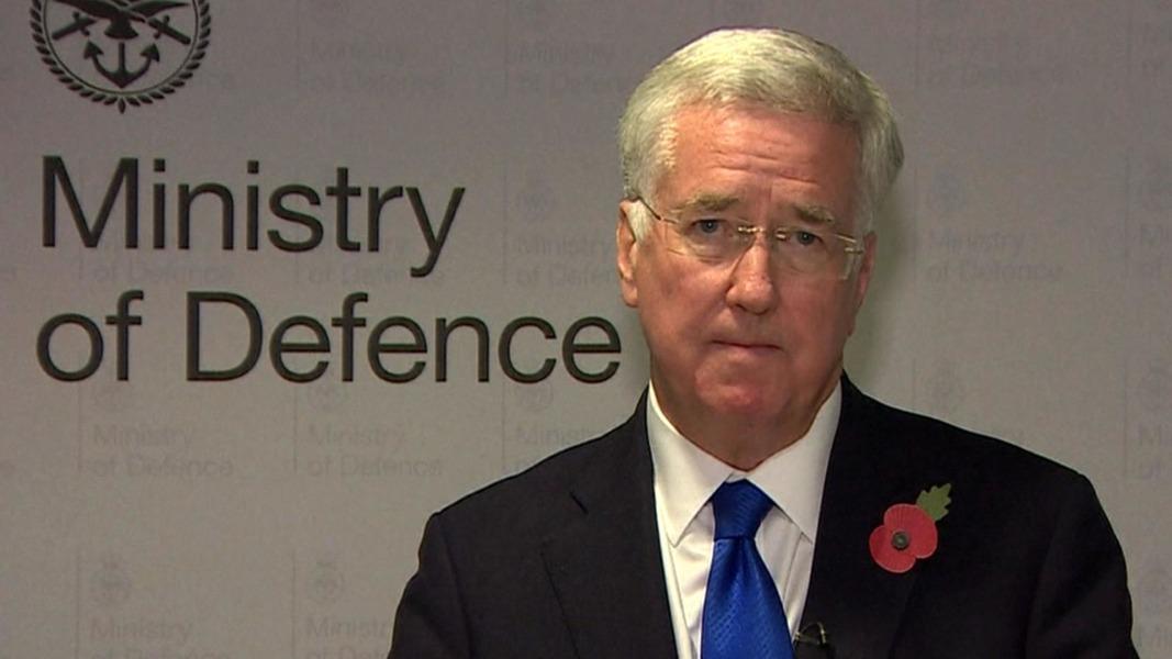 Hasil gambar untuk U.K. defense secretary resigns after sexual harassment allegations