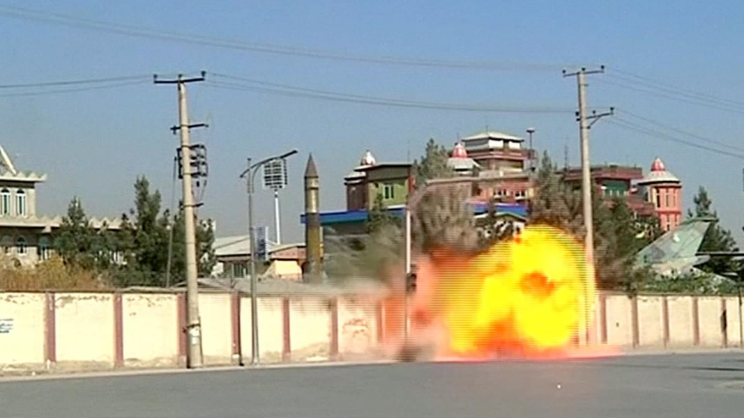 ISIS Claims Blast at Afghan Intelligence Agency in Kabul