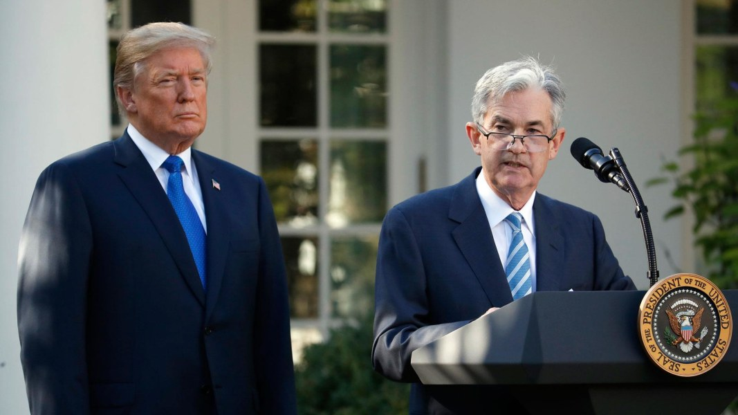 Image result for powell and trump