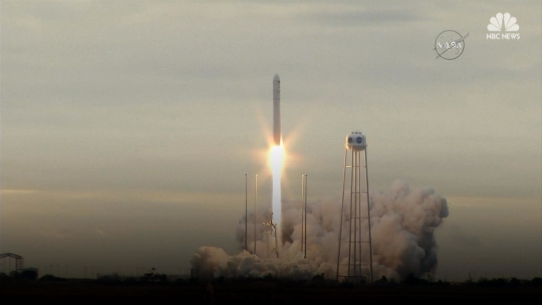 Frozen Treats, Other Supplies Rocketing Toward Space ...