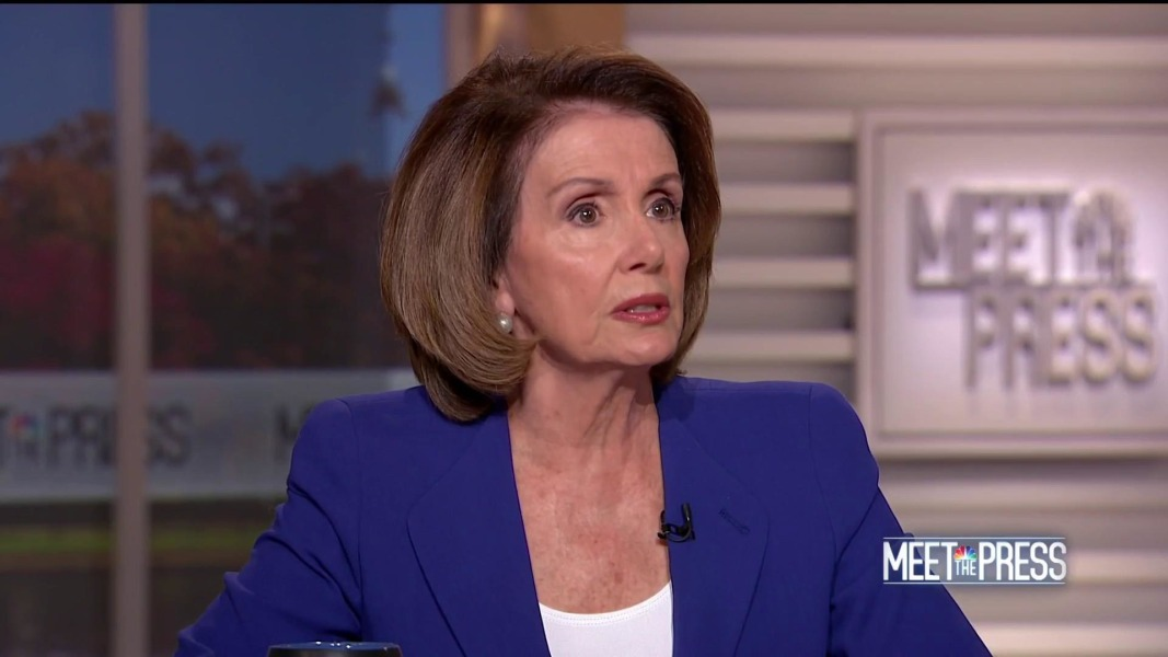 In an awkward interview, Nancy Pelosi defends Democratic congressman accused of harassment