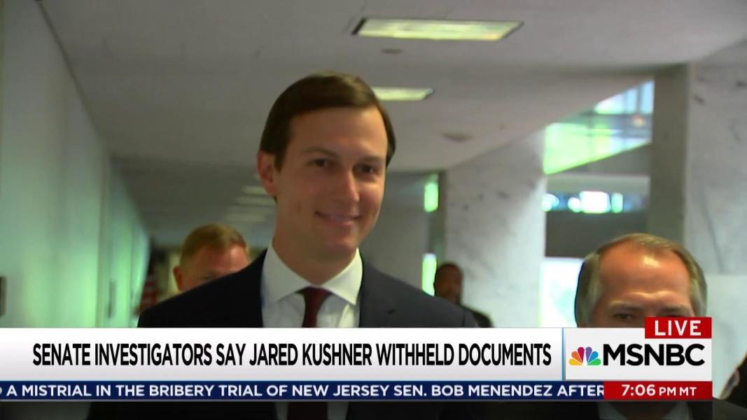 Jared Kushner failed to make full disclosure of files