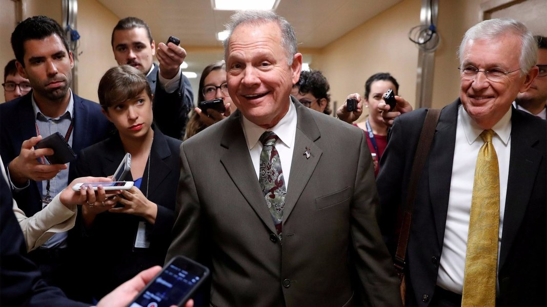 Republican Senate Fundraising Arm Bails on Roy Moore