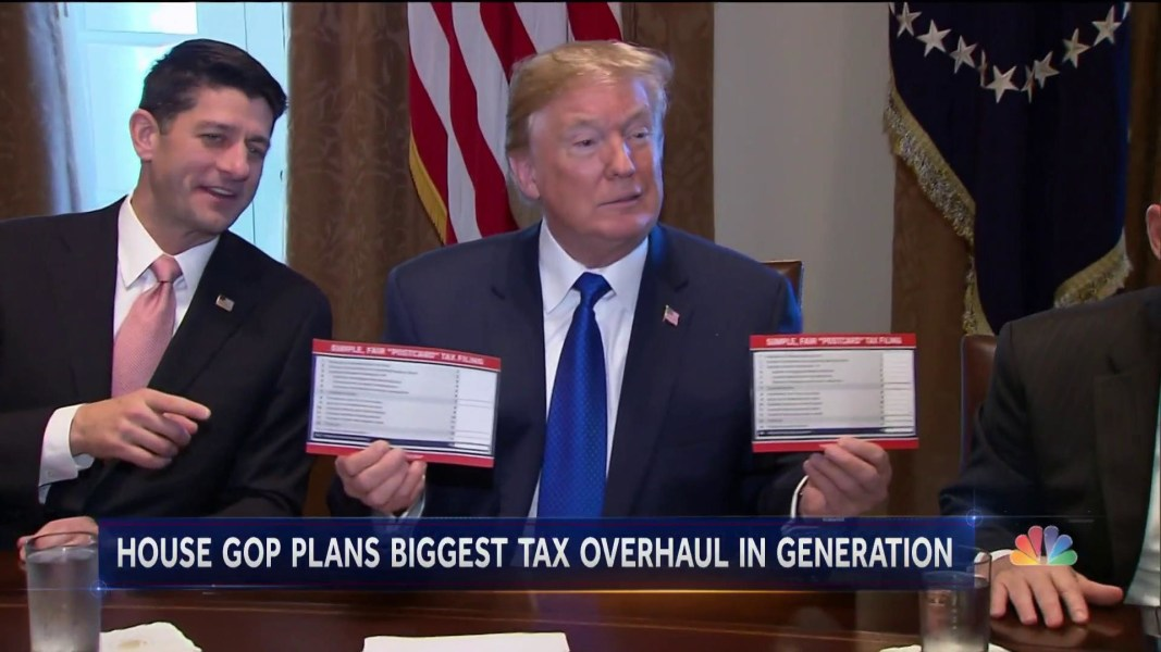 GOP Tax Bill Could Pass The House By Next Week