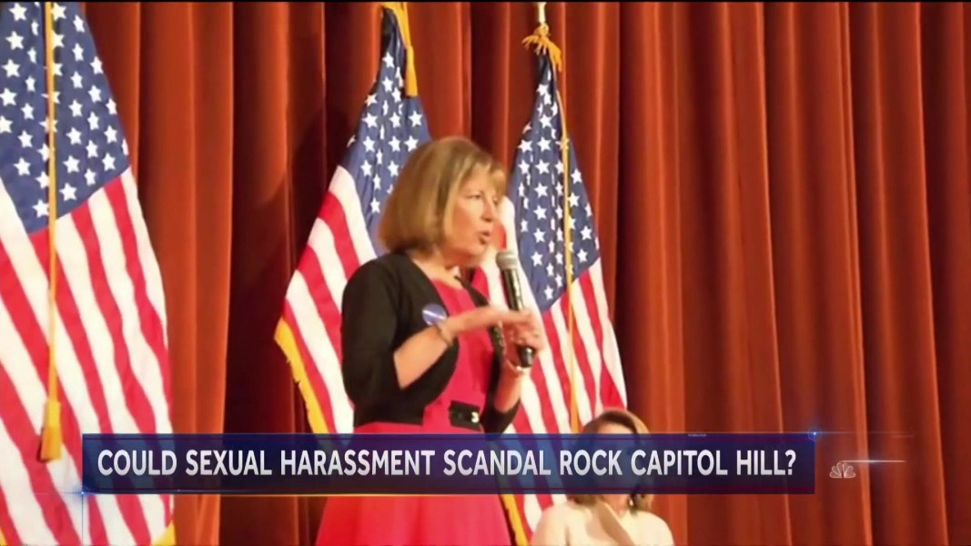 Congresswoman warns of sexual harassment on Capitol Hill