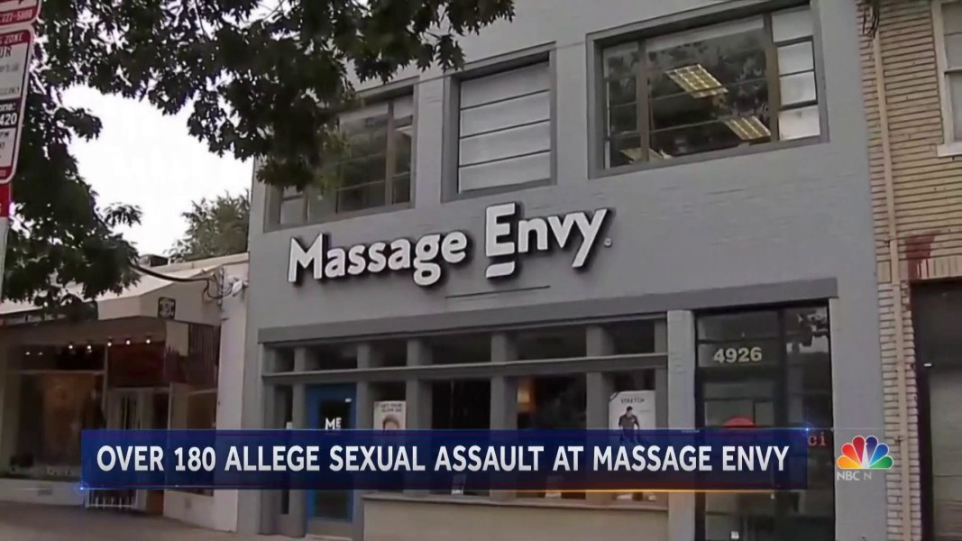 Massage Envy 'shaken' by reported sexual misconduct at spas