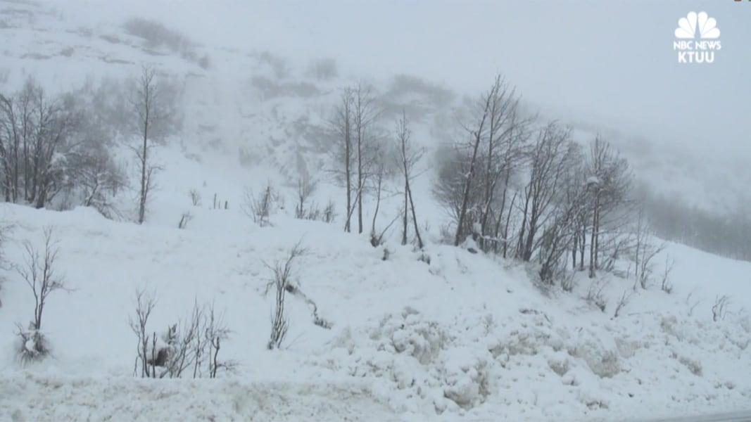 7 Feet Of Snow Over 3 Days Buries Alaska Town Nbc News