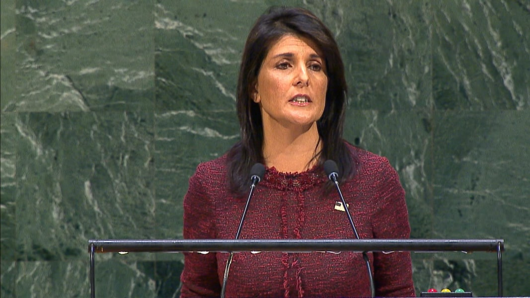 UN General Assembly raps Washington over Jerusalem decision