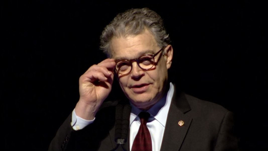 Franken vows to not give up his 'voice' after he resigns