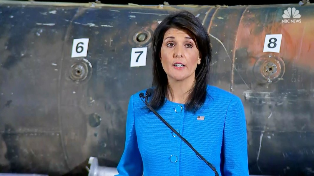 Concrete evidences about Iran's breach of UNSC resolutions: Haley