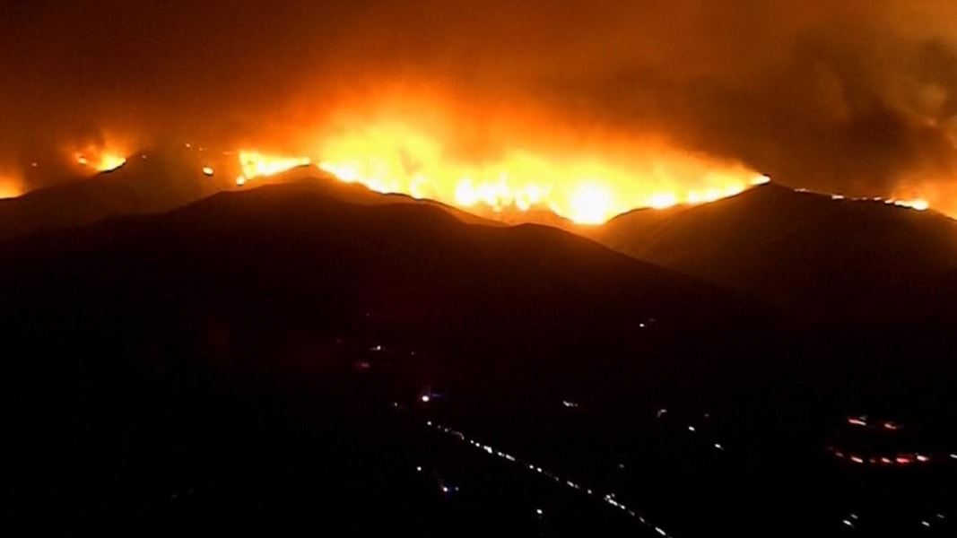 Deadly wildfire rages in hills north of Los Angeles - NBC News
