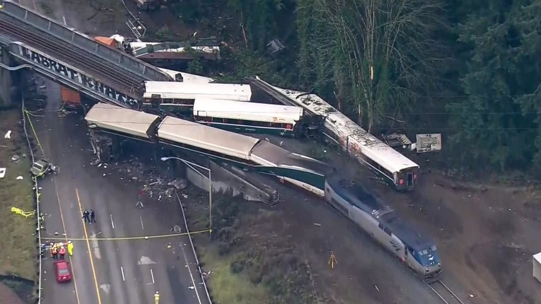 AMTRAK DERAILMENT: 3rd man identified among train crash victims