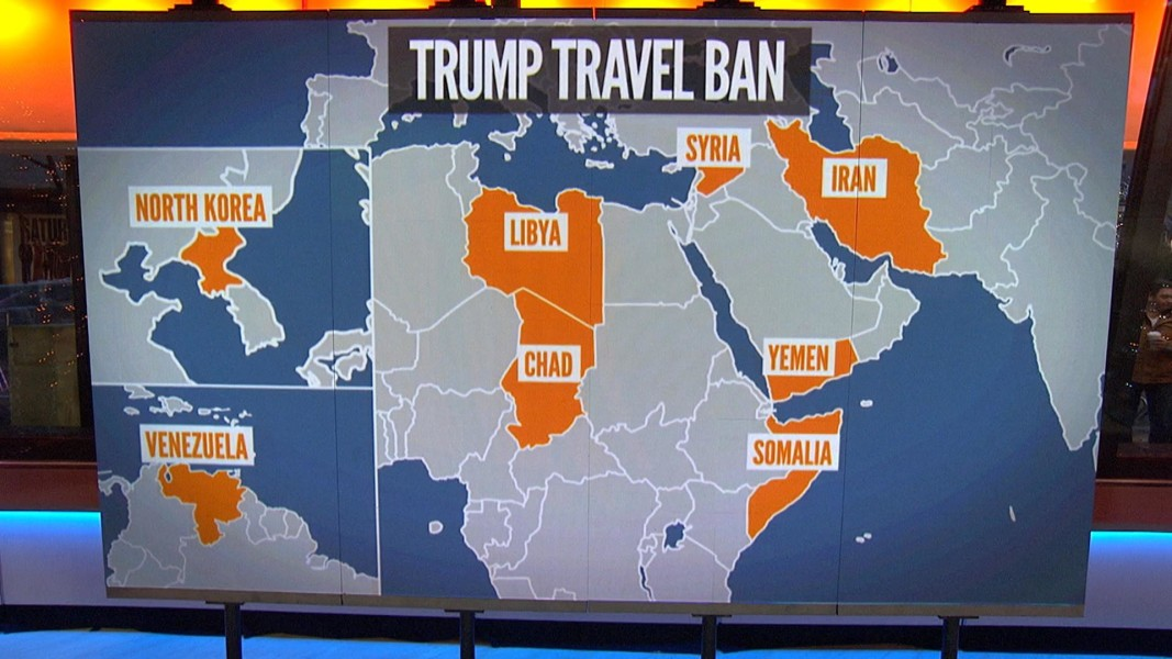 Federal Court Moves To Partially Block Trump Travel Ban