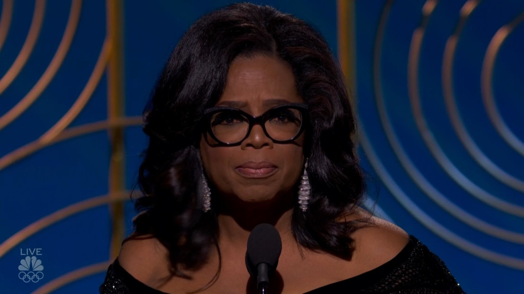Rewatch The Acceptance Speech That Has The Internet Endorsing Oprah For President