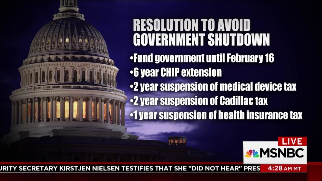 House GOP appears to have deal to avoid shutdown