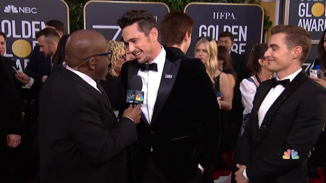 Al roker interviews james and dave franco on the golden globes red al roker interviews james and dave franco on the golden globes red carpet m4hsunfo