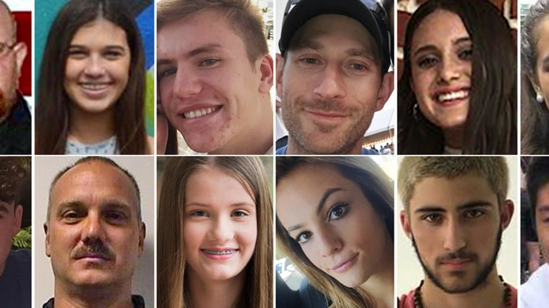 Florida Community Grieves At Vigil After Mass School