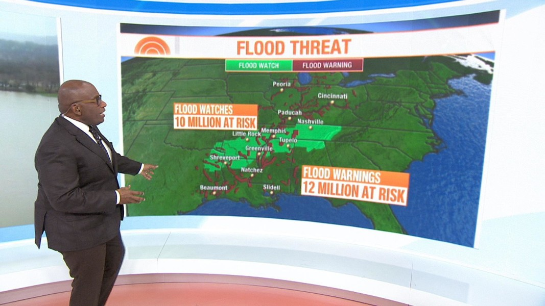 More rain heads for hard-hit mid-South and Midwest - NBC News