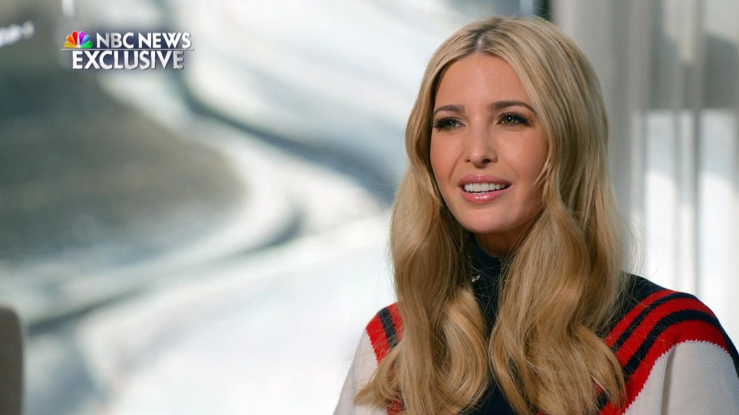 Ivanka Trump on her 'unbelievable' experience at the Olympics