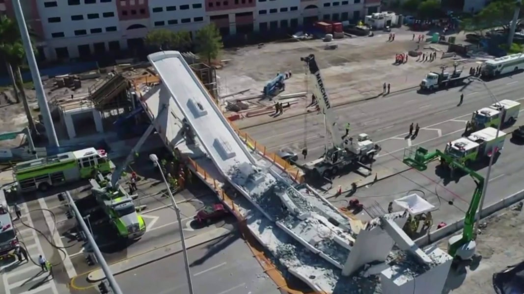 Collapse Of Florida Condo Boom >> Collapsed Florida Bridge Was Built Using Accelerated Technology