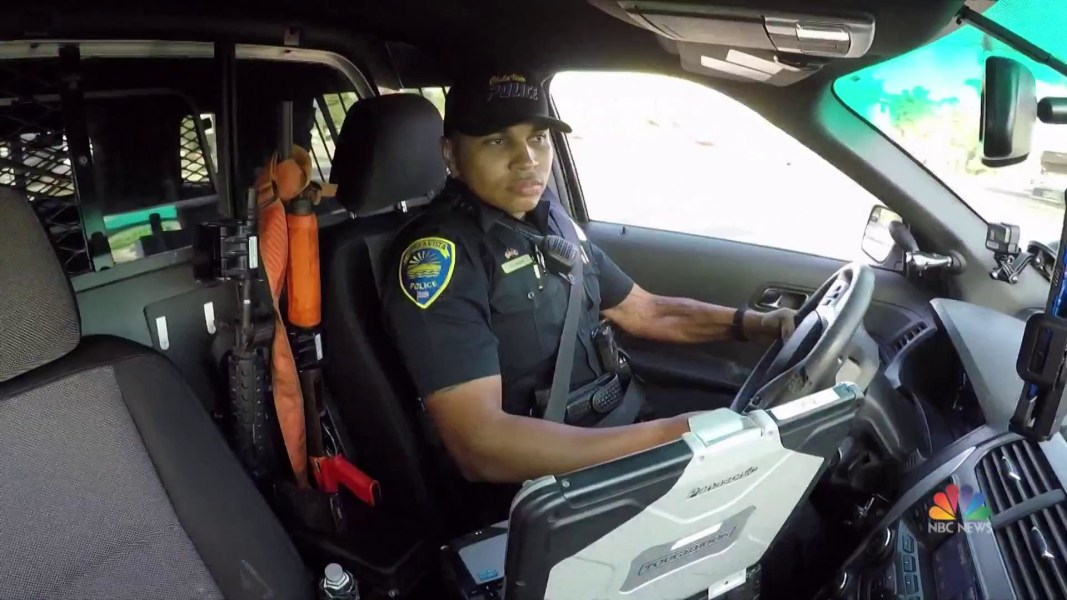 Nice Former Marine Overcomes The Odds To Become A Police Officer