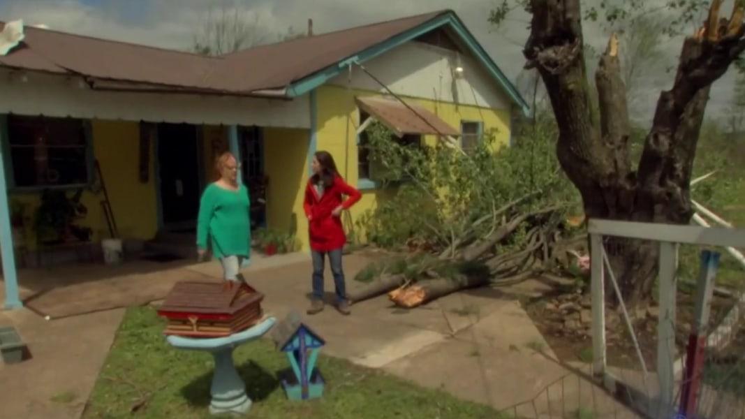 Tornado strikes Arkansas as swath of U S  hit by severe
