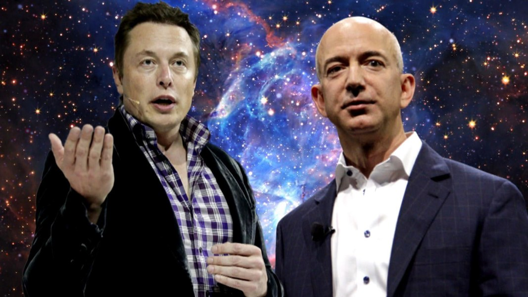 Jeff Bezos Vs Elon Musk The Race For Space Tourism Heats Up Nbc News