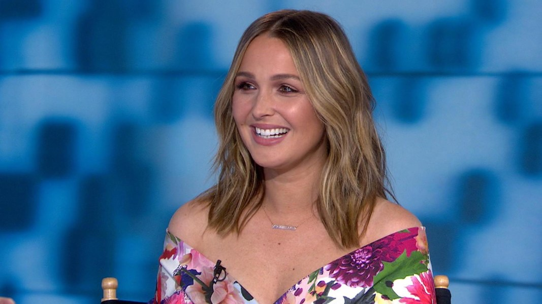 Camilla Ludington Talks About Greys Anatomy And Her Baby Daughter