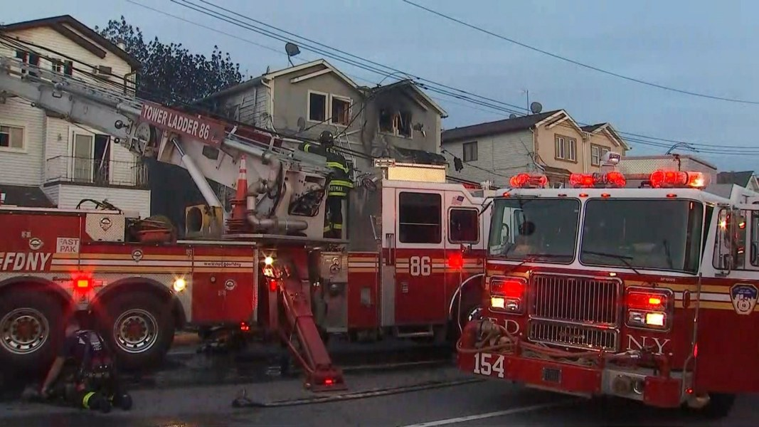 20 Firefighters Injured After Battling 5 Alarm Fire On State Island
