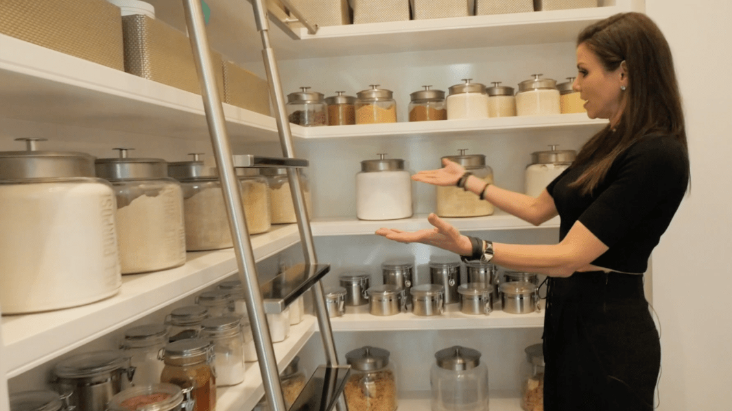 Crazy Kitchens: Heather Dubrow\'s hyper-organized pantry was inspired ...