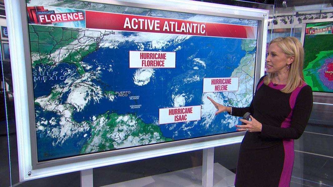 Hurricane Florence strengthens to category 4 storm - NBC News