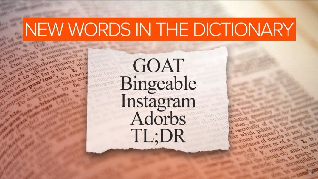 Goat Adorbs Among Merriam Webster Dictionary S New Words Nbc News