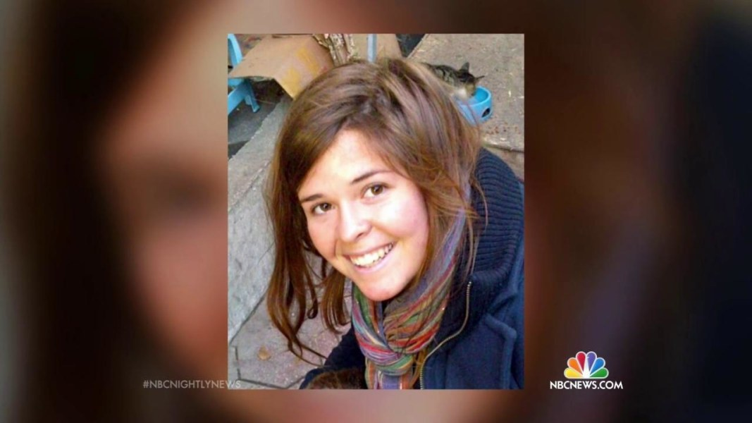 Unconfirmed: ISIS Claims Kayla Mueller, American Female Hostage, Is Dead
