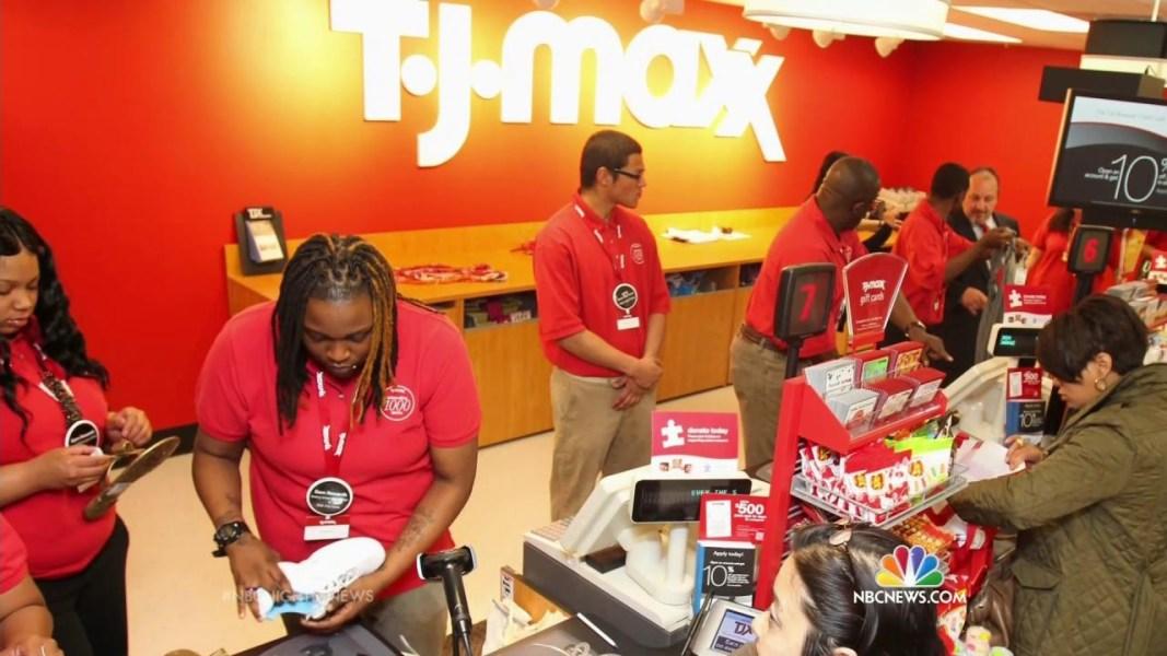 TJ Maxx  Marshall s  Homegoods to Raise Minimum Wage. TJ Maxx  Marshall s  Homegoods to Raise Minimum Wage   NBC News