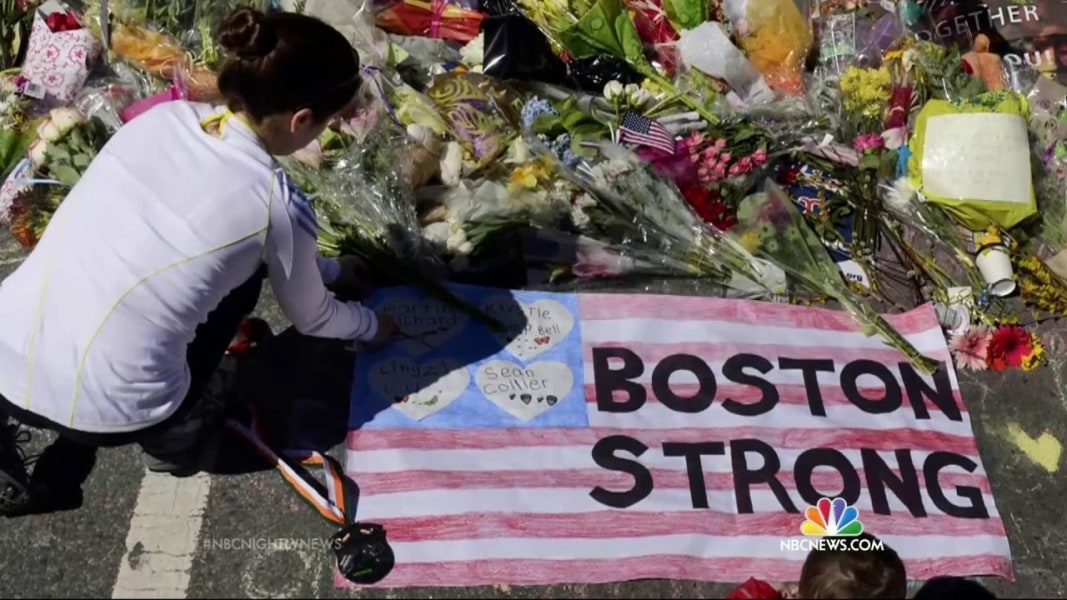 Marathon Bombing Survivors Give Meaning to 'Boston Strong ...