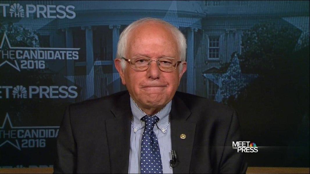 bernie sanders meet the press 2016 presidential candidates