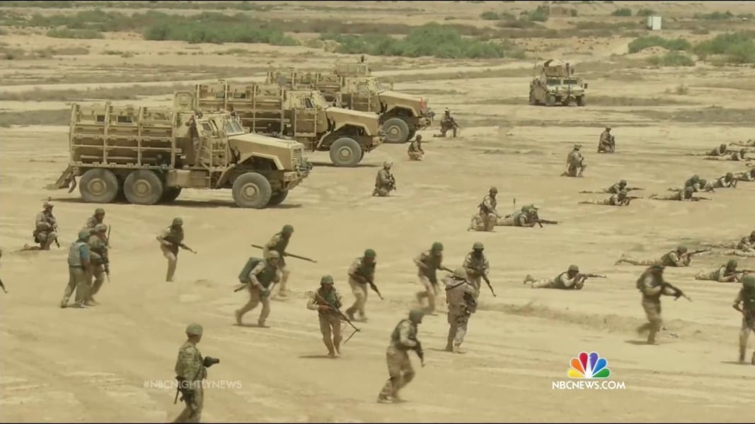 US Considering Adding More Military Bases In Iraq NBC News - Iraq map us military bases