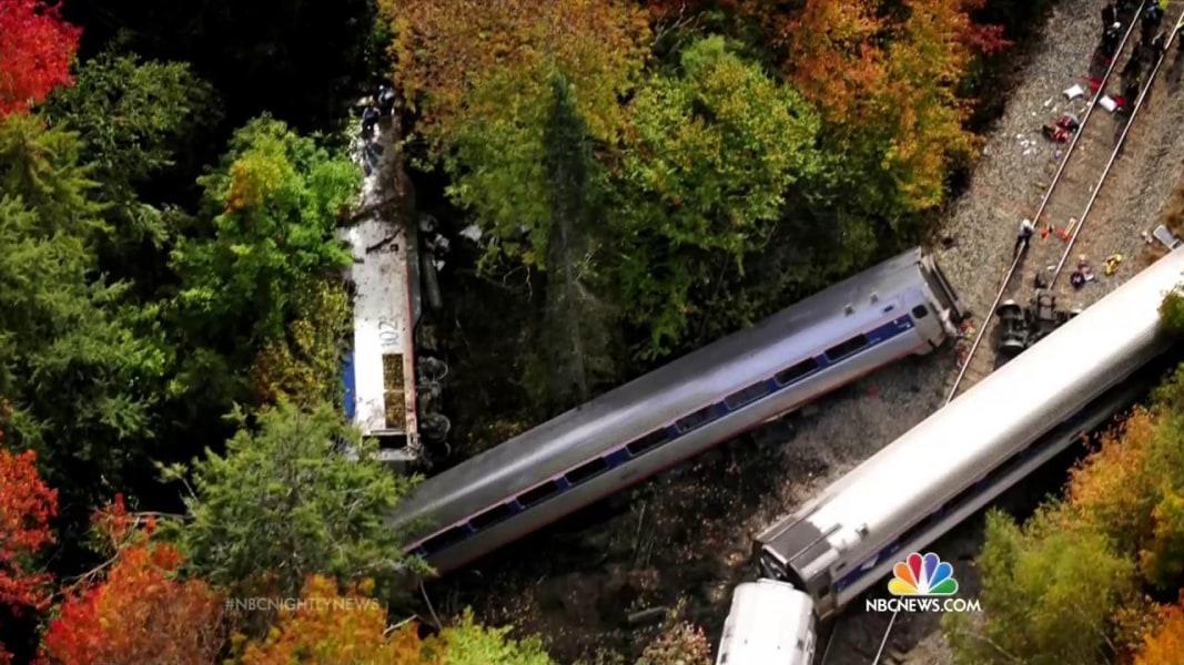 New York City Amtrak Train P40DC 1 & 52 Departing Depew NY ...